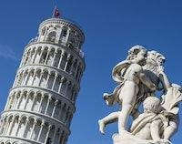 Campanile, de 'Scheve Toren van Pisa'