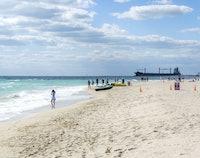 Stranden van Miami