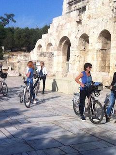 Klassiek Athene e-bike fietstour