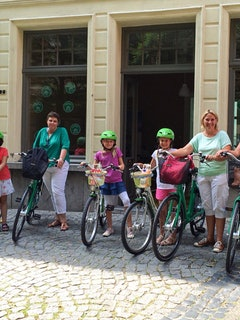 Antwerpen met de kids fietstour