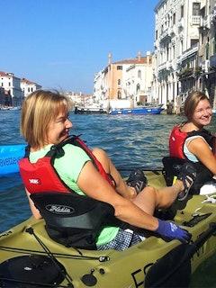 Venetië Canal Grande kayak tour