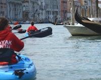 Ontdek Venetië kayak tour