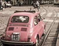 Milaan Slow Fiat 500 tour