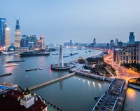 The Bund / Huangpu rivier