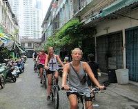 Bangkok in één dag fietstour