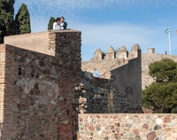 Kasteel Gibralfaro (Castillo de Gibralfaro)