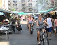 Bangkok in de middag fietstour