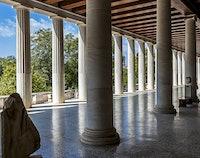 Oude Agora van Athene